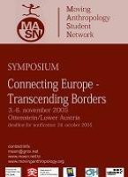 "1st Conference (2005): Ottenstein, Austria : ""Connecting Europe, Transcending Borders """